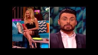 Amanda holden goes knickerless on rylan's show: 'i'm looking directly at it'