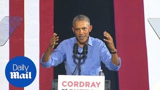 Obama tells voters: 'You are the only check on bad policy'