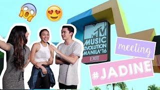 VLOG: James Reid and Nadine Lustre + MTV Interview!!!! | Janina Vela