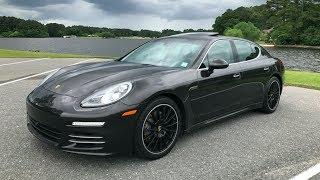 2014 Porsche Panamera 4S Full Tour, Start-up & Review
