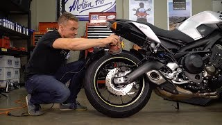 3 Reasons You Need to Break In New Motorcycle Tires   MC Garage