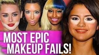 9 MOST EPIC Red Carpet MAKEUP FAILS! (Dirty Laundry)