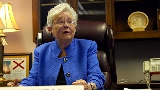Kay Ivey says she's prepared to replace Governor Bentley