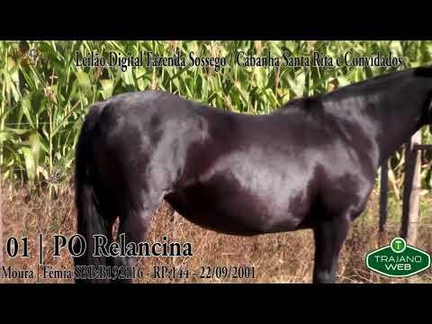 LOTE 01 | PO RELANCINA