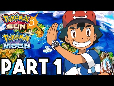 Pokemon Sun and Moon Gameplay Walkthrough Part 1 - FULL GAME 2+ HOURS!! (3DS Pokemon Sun Gameplay)