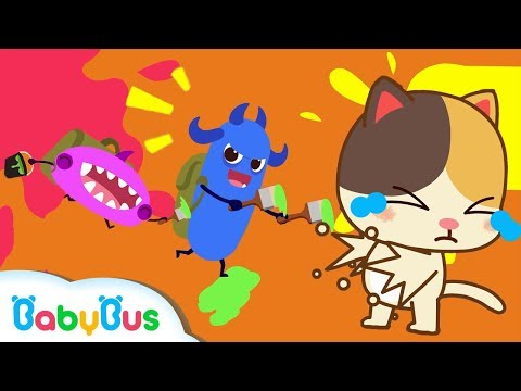 *NEW*나쁜 세균들 쫓아요!|손씻기 동요|어린이습관 동요 연속듣기|베이비버스|BabyBus