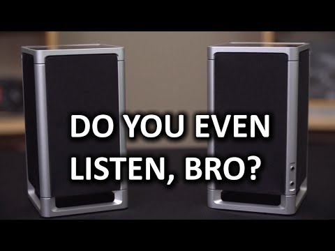 Simple Audio Listen Desktop Speakers - Smashpipe Tech