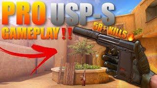 Standoff 2 New Pro USP-S Gameplay 58+ Kills‼️