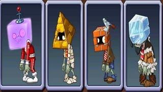 All New Zombies   Plants vs Zombies 2 (PvZ 2)