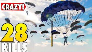 CRAZY LANDING IN SANITARIUM! | CALL OF DUTY MOBILE BATTLE ROYALE!