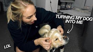 TURNING MY DOG INTO ME