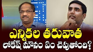 Nara Lokesh silence on polls raise doubts: Prof K Nageshwa..
