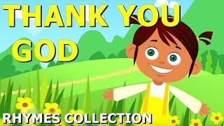 Thank You God Nursery Rhyme | Nursery Rhyme for Kids | Twinkle TV
