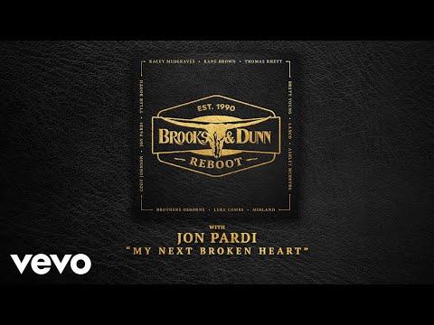 Brooks & Dunn, Jon Pardi - My Next Broken Heart (with Jon Pardi [Audio])