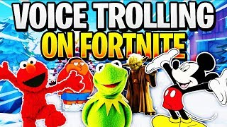Voice Trolling on Fortnite! (Funny Reactions)
