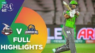 Full Highlights   Lahore Qalandars vs Karachi Kings   HBL PSL 6   Match 11   MG2T