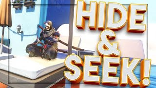 OVERWATCH HIDE & SEEK MINI GAME WITH GF & FRIENDS!!