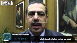 مصر العربية | الخطيب: مصر اعلى الدول فى الحوادث على مستوى العالم -