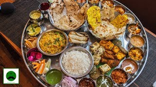 Unlimited Veg Thali at only Rs 400 Insane  Food Challenge | Best Buffet in Delhi?