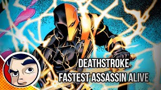"""Lazarus Contract """"Deathstroke Takes Flashes Powers"""" - Rebirth Complete Story 