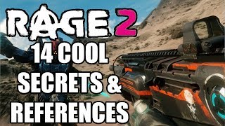 RAGE 2 - 14 COOL Easter Eggs, References And Secrets You Missed