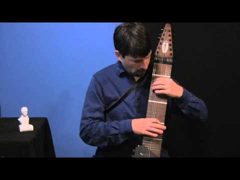 """Mozart on the Stick Guitar - Greg Howard plays """"Minuet in G"""" K1 two-handed tapping"""
