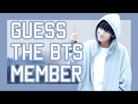 GUESS THE BTS MEMBER FROM FACTS