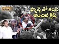 Director Krish chants Johar NTR & Jai Balayya with fans | NTR Kathanayakudu premiere show