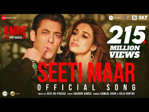 Seeti Maar video song from Radhe starring Salman Khan, Disha Patani