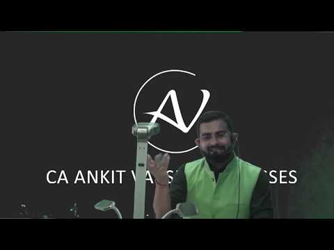 video Taxation (Income Tax + GST) By Ankit Varshney CA INTER New FAST TRACK