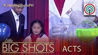 Little Big Shots Philippines: Adi   7-year-old Scientist