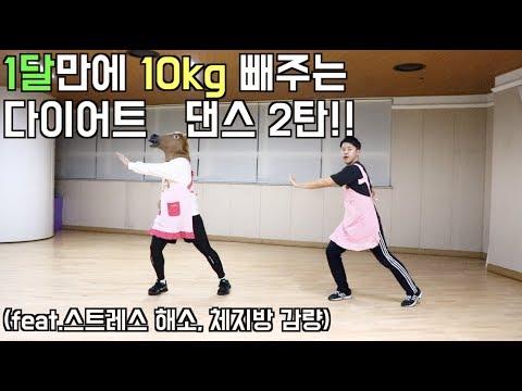 초보자도 따라하기쉬운 다이어트 댄스!!(feat.살빠짐주의)