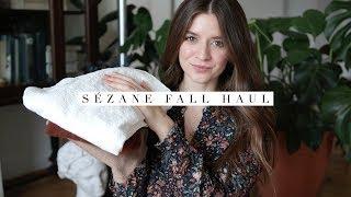 Sezane Haul Fall 2018 + Try-on | Dearly Bethany