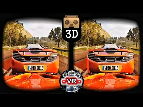 PROJECT CARS 3D VR SuperCar McLaren - Cardboard 3D Gear VR Oculus Rift 3D TV
