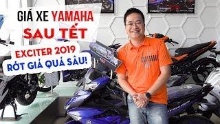 Giá xe Yamaha Exciter 150 2019 giảm sập sàn sau Tết