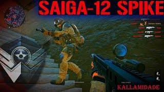 SAIGA-12 SPIKE A 12 QUE DERRUBA