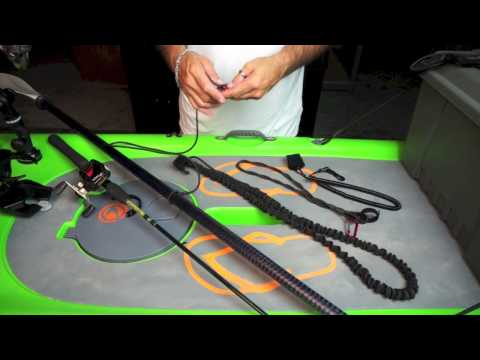 Yak Gear Product Overview - Paddle and Rod Leashes