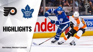NHL Highlights | Flyers @ Maple Leafs 11/09/19