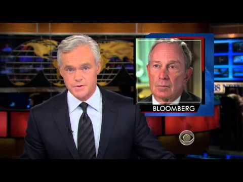 NYC Mayor Bloomberg speaks out on gun control