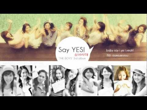 [Thai Lyrics/Trans] SNSD - Say YES!