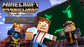 Minecraft: Story Mode granting access to Episode 7 next week