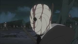 Official Obito goes insane after Kakashi kills Rin English Anime Dub