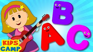 ABC Song for Children | Nursery Rhymes from Kidscamp