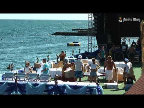 Оформление пляжной вечеринки в Крыму