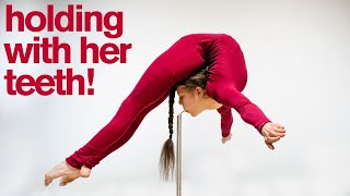 World's Most INSANE DAREDEVIL Contortionist Ultimate Photo Challenge **DON'T TRY THESE TRICKS!**