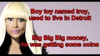 Nicki minaj - Anaconda  Lyrics + clean version