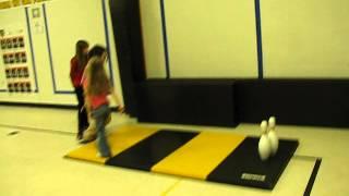 PE Tumbling Lesson - Body Bowling 2