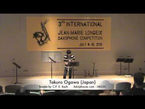 Takuro Ogawa Japan Sonata by C P E  Bach