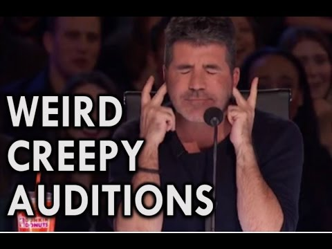 America's Got Talent 2016 MOST INSANE CREEPY AUDITIONS