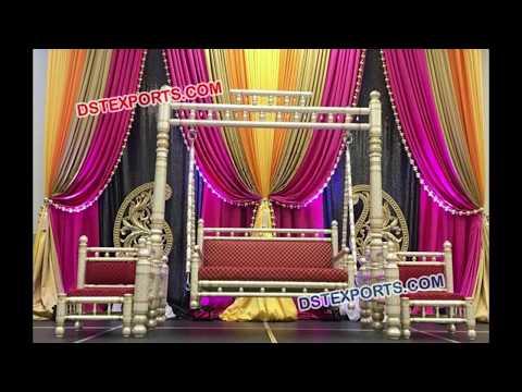 Indian Wedding Swings & Jhulas